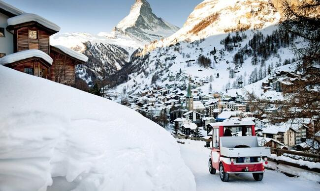 Melex in Zermatt, Switzerland